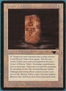 Bronze Tablet Antiquities PLD Artifact Rare MAGIC MTG CARD (ID# 239453) ABUGames