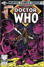 MARVEL PREMIERE #59  MARVEL COMICS 1981 DR. WHO TOM BAKER BRONZE AGE