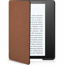 Kindle Oasis 2019 Case | Cover Shell Ultra Slim Light | Brown + Stylus Protector