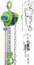 Paranco manuale a Catena Professionale Leggero Compatto Sicuro m3 Portata.Kg.250