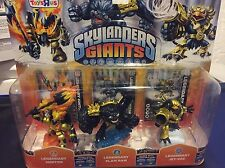 Legendary Skylanders Giant, Ignitor, Slam Bam, Jet-Vac, Toy R Us Exclusive