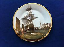 "Edwardian John Ward ""Return To Harbour "" plate"