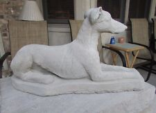 SOLID CONCRETE GREYHOUND STATUE OR USE AS A MONUMENT