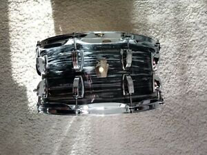 LUDWIG BLACK PEARL OYSTER SNARE14X6.5 NEW OPENED NEVER PLAYED W NEW HARDCASE