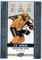 18/19 2018 UD TIM HORTONS HOCKEY GAME DAY ACTION CARDS (GDA-X) U-Pick From List