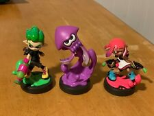 Splatoon 2 Amiibo 3 Pack Inklings Open in Great Condition
