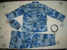 15's China PLA Hong Kong Air Force,Airborne NCO Digital Camo Combat Clothing