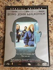 Being John Malkovich (Dvd 2002)