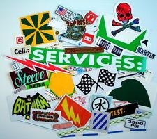 Surplus Of Stickers, 53 Pieces For Craft Works * Surplus De 53 Autocollants