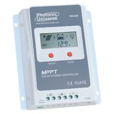 10A MPPT solar charge controller with LCD screen for 12V/ 24V systems up to 100V