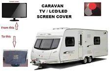 CARAVAN ,motorhome, touring caravan, TV LED,LCE SCREEN COVER 18 TO 24 INCH
