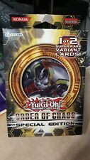 YU-GI-OH! ORDER OF CHAOS SPECIAL EDITION BOX 3 PACKS SEALED NEW