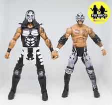 WWE AEW Mattel Lucha Bros Pentagon Jr and Rey Fenix Custom Elite Action Figures