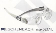 Eschenbach Lupenbrille MaxDetail 2-fach mit Etui +/-3 dpt - Lesebrille - NEU