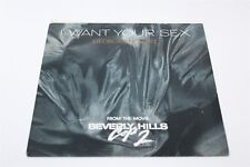 """George Michael I Want Your Sex 7"""" Single Vinyl Record VG+/VG+ 45rpm 1987"""