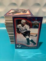 1997 BOWMAN CHL CANADIAN HOCKEY LEAGUE COMPLETE SET 1-160 Vincent Lecavalier