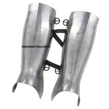 Armor Ancient Greek Hoplite Greaves Protective Medieval 18g Functional Leg Guard