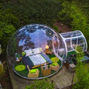 Inflatable Transparent Bubble Tent With Blower + FREE SHIPPING!