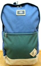 Vans Van Doren III Backpack Laptop Bag Dress Blue Darkest Spruce Green NWT
