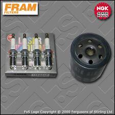 SERVICE KIT for FORD FIESTA MK6 ST150 FRAM OIL FILTER IRIDIUM PLUGS (2004-2008)