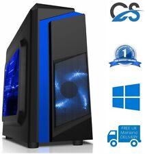 Computadora Para Juegos PC Ultra Rápido Intel Core i7 2600 @ 3.40GHz 1TB 16GB Ram Gtx 1050