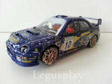 Slot SCX Scalextric Altaya Subaru Impreza WRC N# 10 Swedish Rally - Mäkinen