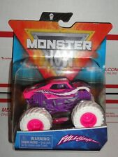 SPIN MASTER 2021 MONSTER JAM FULL CHARGE PINK  SERIES 14 WITH WRISTBAND    RARE