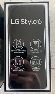 LG Stylo 6 LMQ730MM - 64GB - White (Metro) (Single SIM)