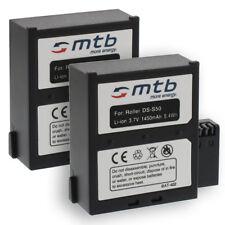 2x Batterie 13NXAKACEV011 per Nilox F-60 Evo,F-60 Evo 4K / KitVision Edge HD30W