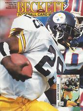 Beckett Football Card Monthly February 1993 Barry Foster