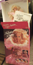 1993 TWINKLE LIGHTS BARBIE MATTEL with original box