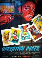 Plakat Kino Operation Poker - 120 X 160 CM