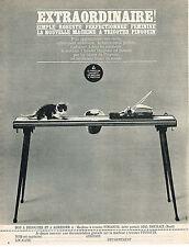 PUBLICITE ADVERTISING 084  1963  PHILIPS  machine à tricoter