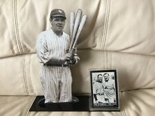 Babe Ruth Lou Gehrig photo desk plaque stand-Excellent-Ships Same Day