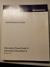 Informatica PowerCenter Powermart 6 Transformation Guide instructional book