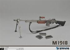 "ZY Toys 1/6 Weapon Model WWII BAR M1918 Machine Gun F 12"" Soldier Action Figure"