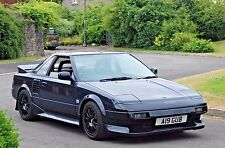 TOYOTA MR2 Mk1 NEW SIDE SKIRT TO SILL BLACK RUBBER SEAL / GASKET - AW11