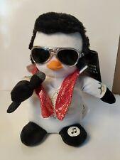 "King ELVIS Presley ""ELVIS PENGUIN"" Aloha With TCB Glasses! Sings Jailhouse Rock!"