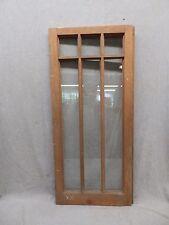 Old Antique 6 Lite Casement House Window Sash Cabinet Door Vtg Chic 16x35 93-17P
