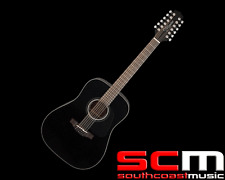 Takamine GD3012BLK 12 string Acoustic Guitar Black Gloss Spruce Mahogany