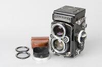 Rolleiflex 2.8F TLR Medium Format Film Camera w/ Carl Zeiss Planar 80mm f2.8
