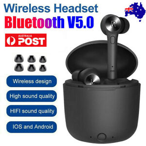 Bluedio Hi Wireless Bluetooth 5.0 TWS Earphones Mini In-Ear Pods For IOS/Android