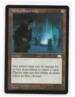 Magic the gathering ~ MTG ~ 1x Well of Knowledge ~ Weatherlight ~ M/NM