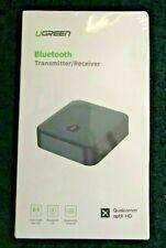 Ugreen Bluetooth 5.0 Dual Receiver Transmitter Qualcomm AptX HD Audio Adapter