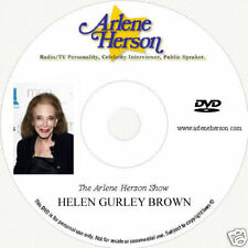 Helen Gurley Brown TV  Interview (30 Minutes)  DVD