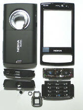 Full Black Fascia Housing facia cover case faceplate for Nokia N95 8GB    009653