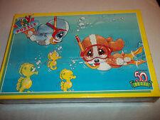PUZZLE 50 pz ANNO 1992 SAD SAM AND HONEY  subacquei  cod.5857