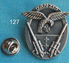 Flak Danzig Adler EK Abzeichen Orden Militär Militaria Pin Badge Anstecker #127