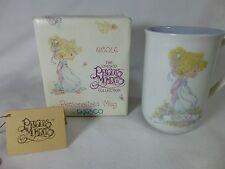 Precious Moments - Personalized Mug - 1990 - Nicole