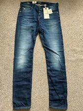 BNWT Scotch and Soda Ralston Slim Fit Mens Blue Denim Jeans | 31W 34L